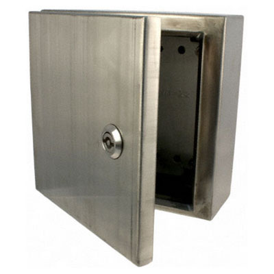 BUD Industries SNB-3736-SS NEMA 4X Stainless Steel Enclosure