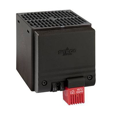 STEGO 02820.0-06 400W PTC Enclosure Fan Heater w/ Thermostat