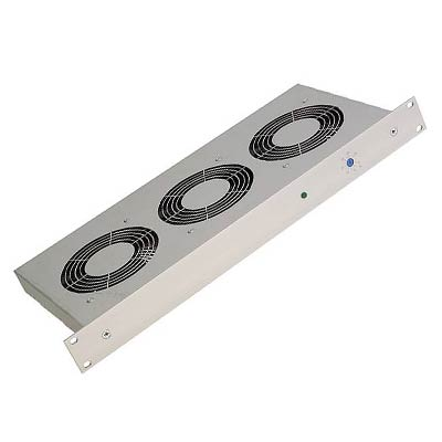 "STEGO 01941.1-00 1U 19"" Rack Mount Cooling Fan, 678 CFM"