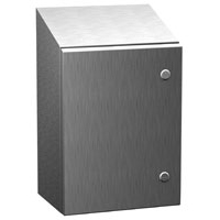 Hammond ST161208SS NEMA 4X Stainless Steel Enclosure with Sloped Top