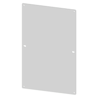 SCE-6N6MP Carbon Steel Sub Panel for 6 x 6  NEMA 1 Enclosures