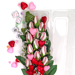 "Baseball Rose Valentine's Day ""Grand Slam"" Bouquet (12 Roses) SWATCH"