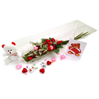 "Football Rose Valentine's Day ""Touchdown"" Bouquet THUMBNAIL"