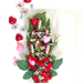"Football Rose Valentine's Day ""Touchdown"" Bouquet (6 Roses) SWATCH"
