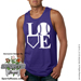 Softball LOVE Mens Tank Top Shirt SWATCH
