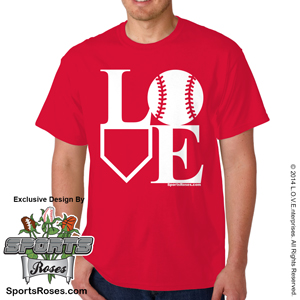 Baseball LOVE T-Shirt MAIN