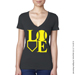 Baseball LOVE V-Neck T-Shirt SWATCH