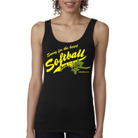 Official Softball Rose Logo Women's Tank Top Shirt THUMBNAIL