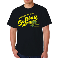 Softball Rose Shirt THUMBNAIL