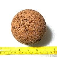 "Cork Massage Ball 3-5/8"" (93mm) Extra Firm Yoga Ball For Myofascial Release THUMBNAIL"