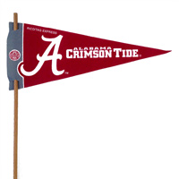 Alabama Crimson Tide Mini Felt Pennants THUMBNAIL