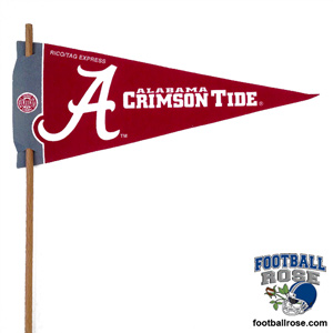 Alabama Crimson Tide Mini Felt Pennants MAIN
