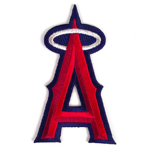 Los Angeles Anaheim Angels MLB Embroidered Team Logo Stickers MAIN