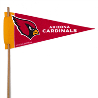 Arizona Cardinals Mini Felt Pennants THUMBNAIL