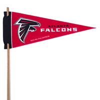 Atlanta Falcons Mini Felt Pennants THUMBNAIL
