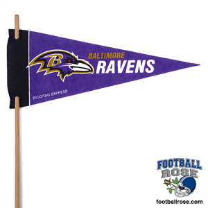 Baltimore Ravens Mini Felt Pennants MAIN