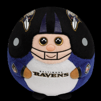 Baltimore Ravens Beanie Ballz Plush Toy_THUMBNAIL
