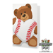 Baseball Rose & Sports Bear Gift Set SWATCH