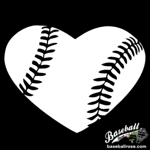 Baseball Heart Decal MAIN