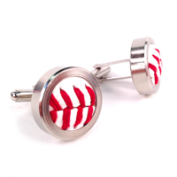 Baseball Themed Cufflinks_THUMBNAIL