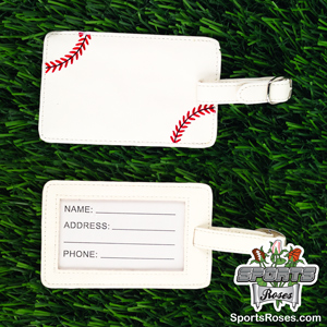 Baseball Luggage Tag MAIN
