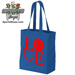 Baseball Softball LOVE Canvas Tote Bag SWATCH