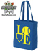 Baseball Softball LOVE Canvas Tote Bag_SWATCH