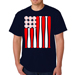Baseball USA Flag Shirt SWATCH