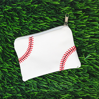 Baseball Themed Coin Purse THUMBNAIL