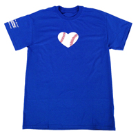 Baseball Heart T-Shirt THUMBNAIL