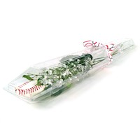Baseball Rose Long Stem - Baseball Themed Gifts THUMBNAIL