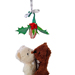 Baseball Rose Christmas Ornament with Gift Box SWATCH