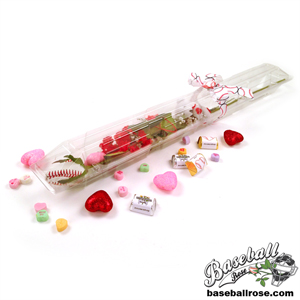 Baseball Rose Valentine's Day Gift Arrangement MAIN