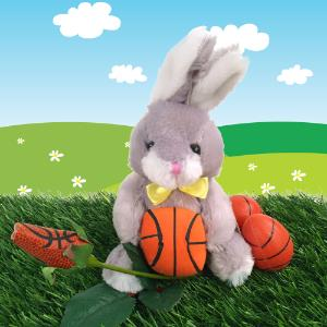 Basketball Rose & Bunny Gift Set MAIN