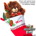 Basketball Rose Christmas Stocking Stuffer Gift Set SWATCH
