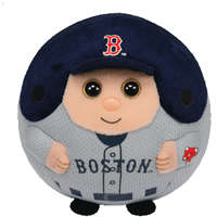 Boston Red Sox Beanie Ballz THUMBNAIL