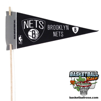 Brooklyn Nets Mini Felt Pennant THUMBNAIL