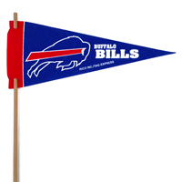 Buffalo Bills Mini Felt Pennants THUMBNAIL