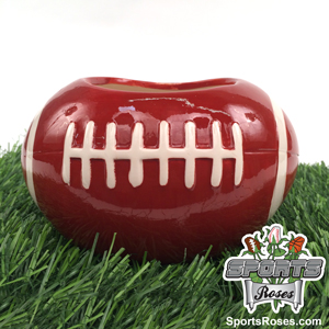 Ceramic Football Vase Planter_MAIN