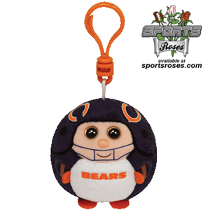 Chicago Bears Beanie Ballz Clip MAIN