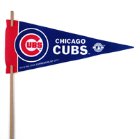 Chicago Cubs Mini Felt Pennants THUMBNAIL