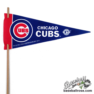 Chicago Cubs Mini Felt Pennants MAIN