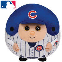 Chicago Cubs Beanie Ballz Clip THUMBNAIL