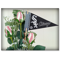 Baseball Gifts|Chicago White Sox Flower Arrangements and Gifts