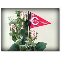 Baseball Gifts|Cincinnati Reds Flower Arrangements and Gifts