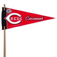Cincinnati Reds Mini Felt Pennants THUMBNAIL
