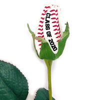 Class of 2020 Baseball Rose Long Stem - Baseball Themed Gifts THUMBNAIL