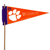 Clemson Tigers Mini Felt Pennants THUMBNAIL