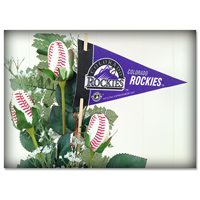 Baseball Gifts|Colorado Rockies Flower Arrangements and Gifts