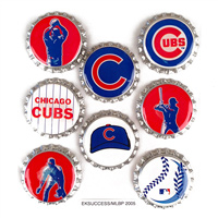 MLB Scrapbook Adhesive Bottle Caps THUMBNAIL